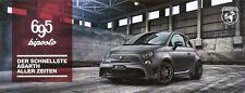 Prospekt / Brochure Fiat Abarth 695 biposto mit Preisliste 08/2014
