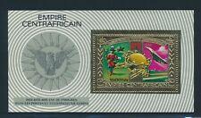 "CENTRAL AFRICA 1977, Mi. 547 + block 30-31 A **/MNH, ""100 years UPU"", very fine!"