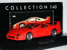 Herpa 1000 Ferrari F40 Red Hi-Detail Plastic 1/43