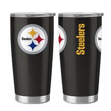 Pittsburgh Steelers Travel Tumbler - 20oz Ultra [NEW] NFL Cup Mug Coffee