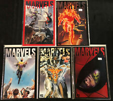 MARVELS LIMITED SERIES MODERN AGE RUN/SET #0-4 OF 4 (VF)