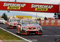 Craig Lowndes Mark Skaife 2010 6x4 PHOTO PRINT V8 Supercars HOLDEN BATHURST 1000