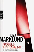 *- NOBELS Testament - von Liza MARKLUND  tb  (2008)