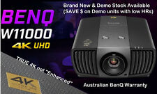 Benq W11000 TRUE 4K HD 3D Home Theatre Projector (20 hr ex-demo as brand new)