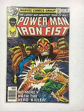 Power Man and Iron Fist #53  F- Marvel comic 1978