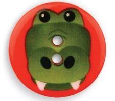 25mm Critter Croc Button