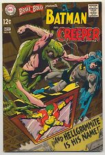 Brave & the Bold #80 (1968) Fine Minus (5.5) ~ DC Comics ~ Batman & The Creeper