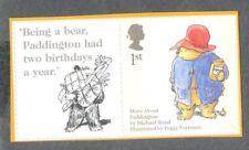 Paddington Bear mnh single + label-self-adhesive-Great Britain-stamp