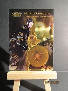 1996-97 Pinnacle Mint Gold #1 Mario Lemieux