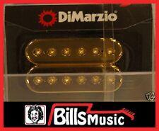 DIMARZIO DP158 Evolution Neck Humbucker Guitar Pickup GOLD CAPS F-SPACING