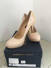 New Alberto Zago Stiletto Shoes Nude 36 ~ UK 3 RRP £165 Wedding Party