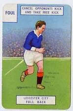 RARE Football Playing Card - Leicester City 1946-7