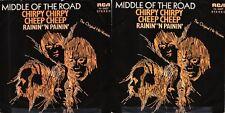 45 GIRI    MIDDLE OF THE ROAD – CHIRPY CHIRPY CHEEP CHEEP // RAININ' 'N PAININ'