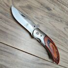 Pocket+Knife+Wodden+Handle+4KJH