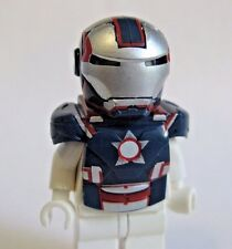 Custom IRON PATRIOT Armor & Helmet for Lego Minifigures by Clone Army Customs