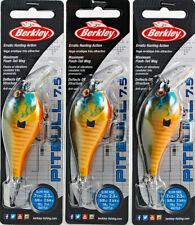 (Lot Of 3) Berkley Pitbull 7.5 Crankbait Bhbpb7.5-Gily 5/8Oz Gilly I3102