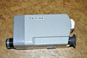 Leitz Leicina in Original Tasche mit Objektven Filter und Bedienungsanleitung