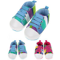 0-24M Sneakers Newborn Baby Crib Shoes Kids Boys Girls Infant Toddler Soft Sole