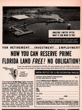 1963 A AD FLORIDA LAND FOR FREE RETIRE PORT ST LUCIE 12 ACRE RECREATION