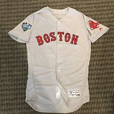 Mookie Betts Boston Red Sox Team Issued World Series Jersey 2018 MLB Auth