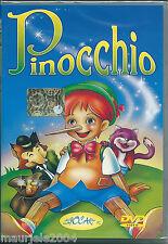 Pinocchio (2003) DVD Cartone Animato NUOVO SIGILLATO De Agostini