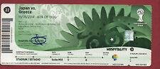 Orig.Ticket    WM BRASILIEN 2014   JAPAN - GRIECHENLAND / Spiel 22 ! HOSPITALITY