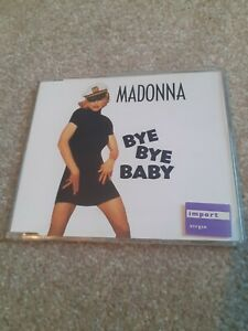 Madonna bye bye baby 7 track German CD Single RARE Ex Condition disc unmarked!