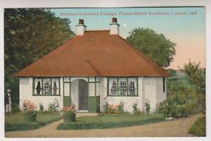 Franco Britannique Exhibition, London 1908 Postale - Oetzmann's Pays Cottage A31