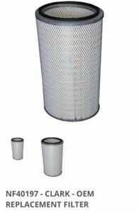 Clark Dust Collector Filter Cartridge OVAL OEM NF40197 NEW  P191920-016-4