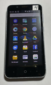 ZTE Avid 4 Z855 16GB Blue (MetroPCS) UNLOCKED Android Smartphone CLEAR ESN