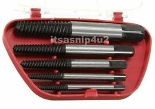 5pc STUD SCREW BOLT Remover tapered easy EXTRACTOR hand tools garage quality