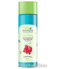 Biotique Bio Berry Sensitive Mommy & Baby Bubble Bath 100% Soap Free - 190ml
