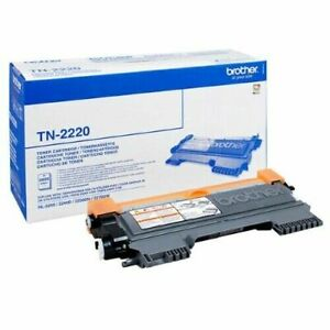 ⭐ Genuine Brother TN-2220 Black High Capacity Toner Cartridge - No Box ⭐