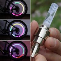 1PAIR Night Light 7Color Bike Decoration LED Light Bicycle Accessories Tire Lamp