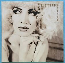 EURYTHMICS ~ SAVAGE ~ 1987 GERMAN 12-TRACK LP RECORD + LYRIC INNER ~ RCA PL71555