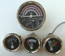 IH B250, B275, B414, 276, 354 Tractor Tachometer Oil  Temp  Ampere Gauge - Kit