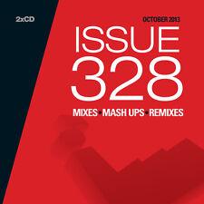 Mastermix Issue 328 Double DJ CD Set Mixes Inc Deep House - Live! Mix Remixes