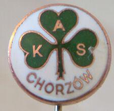 AKS Wyzwolenie CHORZOW Vintage Club Crest Badge Stick PIN Fitting 11 mm Dia