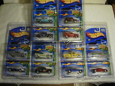 2002 Hotwheels HW Treasure Hunt TH set Lot 12