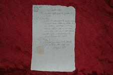 Epoca Napoleone Regno d'Italia 1809 Corte di Appello in Bologna