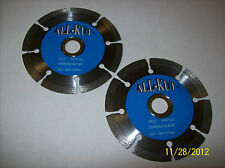 "2 - 4"" DIAMOND CUTTING WHEELS / BLADES 4 ANGLE GRINDERS AND TABLE /CIRCULAR SAWS"