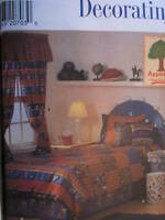 UNCUT Vintage Simplicity SEWING Pattern 7772 Bedroom Accessories Pillows OOP NEW