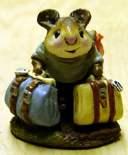 = my Wee Forest Folk - For Sale is One (1) WFF = TRAVELING MOUSE (M-110)