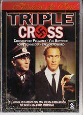 TRIPLE CROSS de Terence Young con Christopher Plummer, Romy Schneider.. AGOTADO.