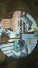 hamilton collector plates mischief makers from country kitten 1988