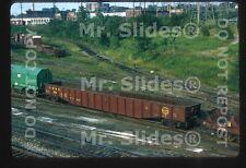Original Slide Freight Philadelphia Bethlehem & New England RR Mill Gondola 200