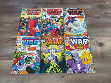 Infinity War 1 - 6 Complete Set Infinity Gauntlet Sequel Thanos Near Mint NM