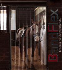 Tenda porta termica stalla cavallo apertura pvc trasparente su misura bandflex