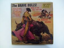 1959 The Brave Bulls! Music Of The Bull Fight Ring LP Gatefold Booklet AFSD 5801