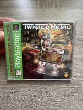Twisted Metal 1 PS1 Sony Playstation 1 Green  Label Greatest Hits